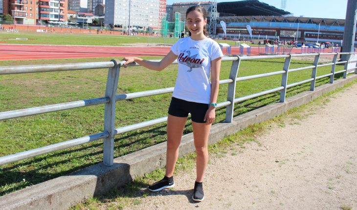 Enma nos 3000 mts pista en  Vigo
