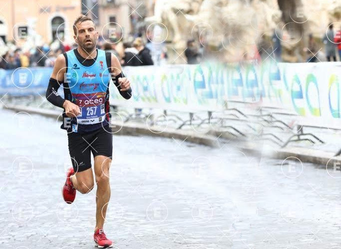 Baltasar na Maratona de Roma
