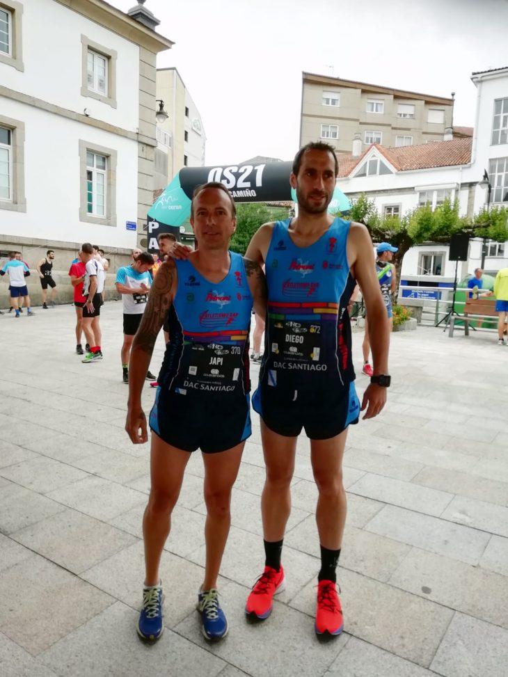 Medio maratón Palas de reis- Melide